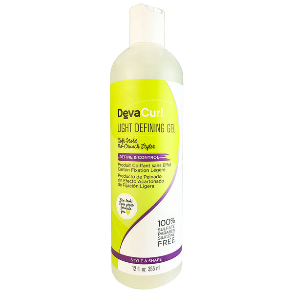 DevaCurl Light Defining Hair Gel 12 oz