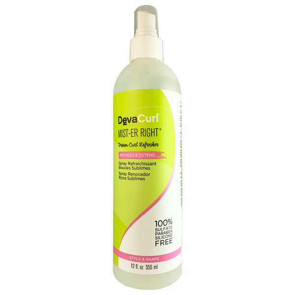 Devacurl Mist-er Right Reresh and Extend Hair Spray 12 oz