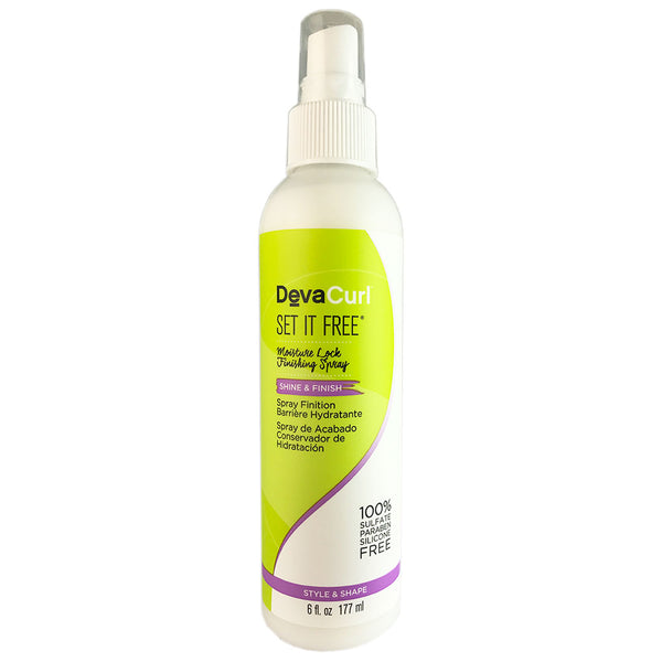 Devacurl Set It Free Shine & Finish Hair Spray 6 oz