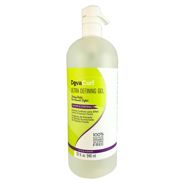 Devacurl Ultra Defining Hair Gel 32 oz
