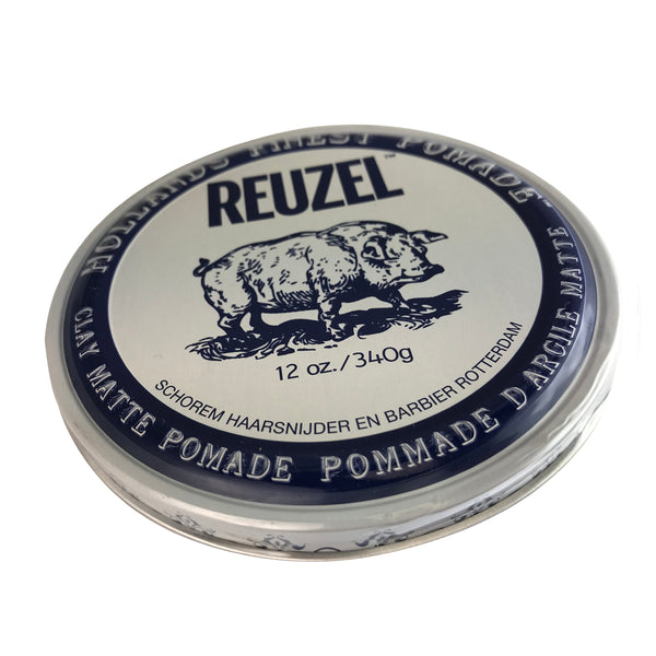 Reuzel Hollands Finest Clay Matte Hair Pomade 12 oz