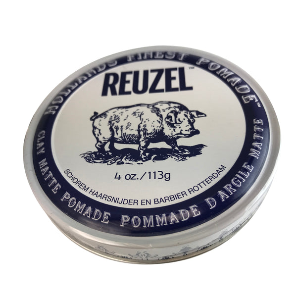 Reuzel Hollands Finest Clay Matte Hair Pomade 4 oz