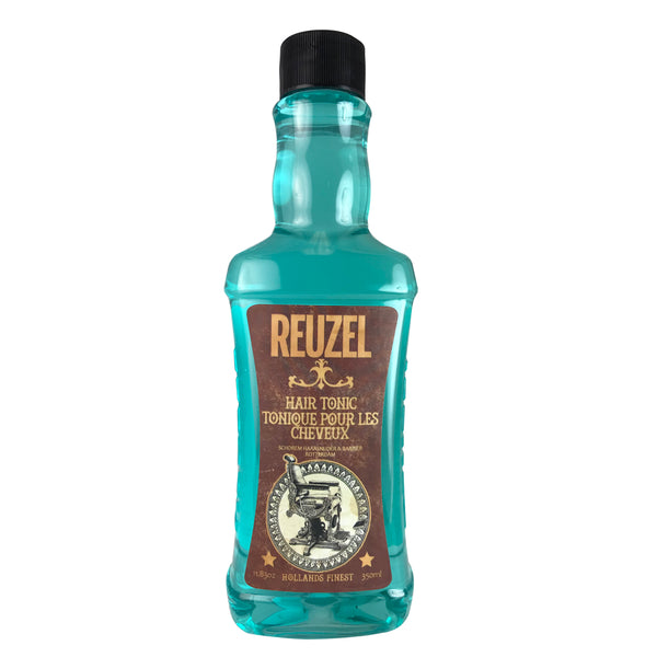 Reuzel Hollands Finest Blue Hair Tonic 11.83 oz Barbers Love it!!