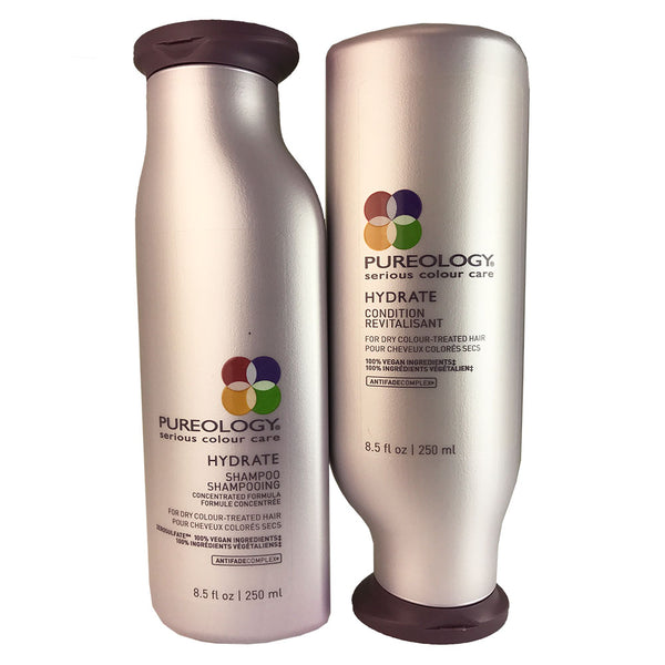 Pureology Pure Hydrate Hair Shampoo And Conditioner Duo 8.5 oz Each