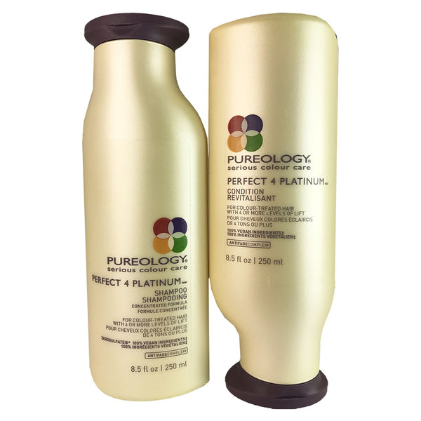 Pureology Perfect 4 Platimun Hair Shampoo And Conditioner Duo