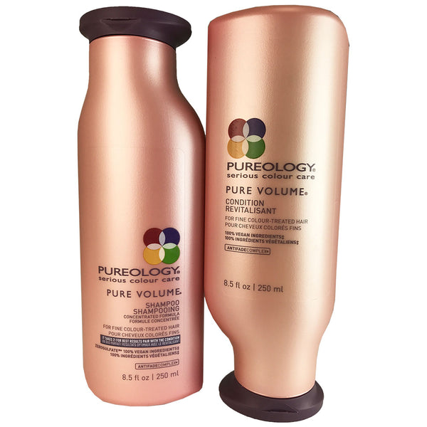 Pureology Pure Volume Hair Shampoo And Conditioner Duo