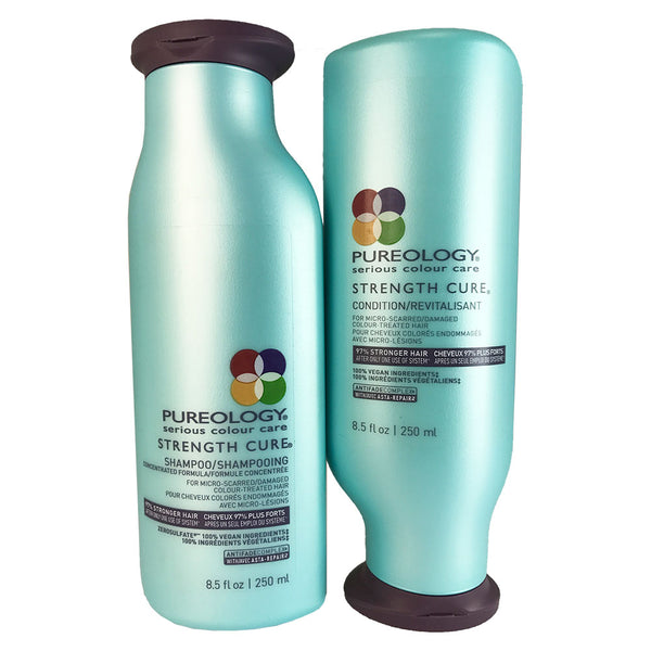 Pureology Strength Cure Hair Shampoo And Conditioner Duo