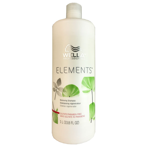WELLA Elements Hair Shampoo Liter 33.8 oz Bottle