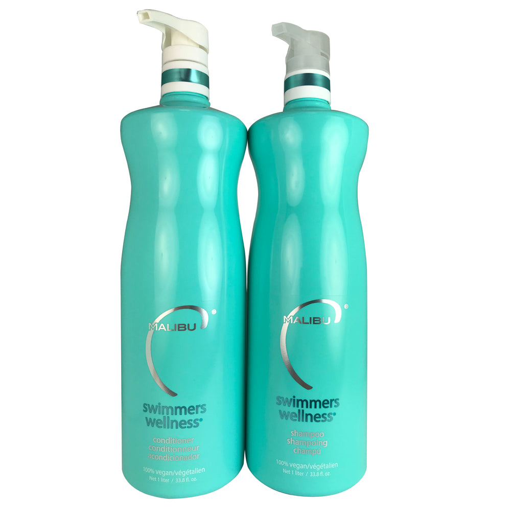 Malibu C  Swimmers Wellness Shampoo and Conditioner 33.8 oz Each