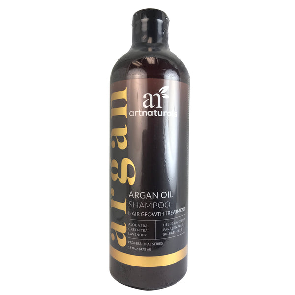 Artnaturals ArganOil Hair Regrowth Shampoo 16 oz Sulfate Free