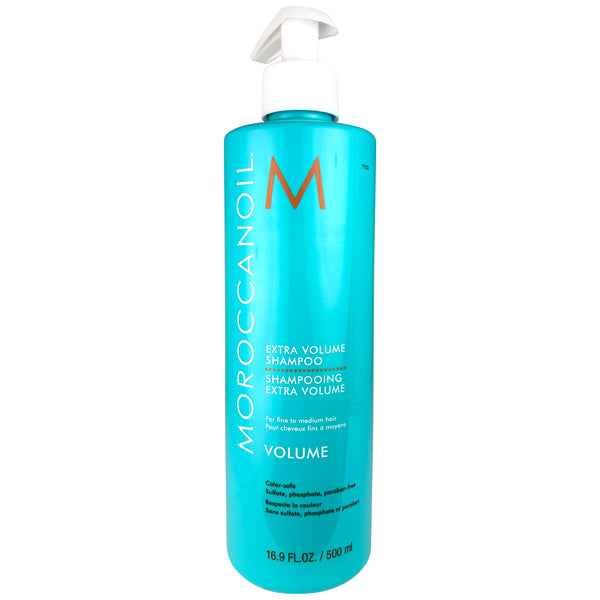 Moroccanoil Extra Volume Fine Hair Shampoo 16.9 oz Color Safe Sulfate Free