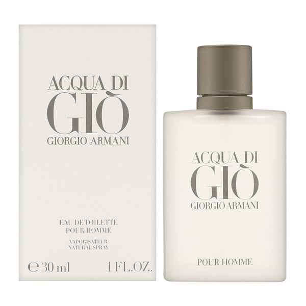 Acqua di Gio by Giorgio Armani for Men 1.0 oz Eau de Toilette Spray