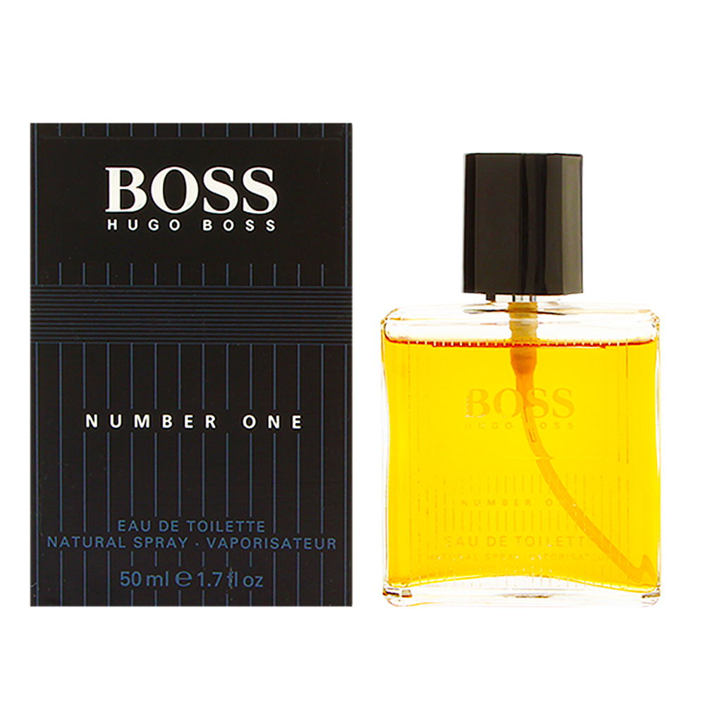Boss No. 1 by Hugo Boss for Men 1.6 oz Eau de Toilette Spray