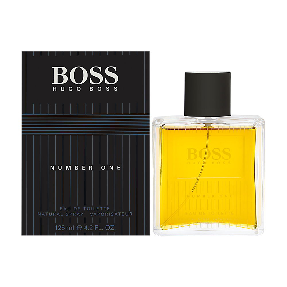 Boss No. 1 For Men by Hugo Boss 4.2 oz Eau de Toilette Spray