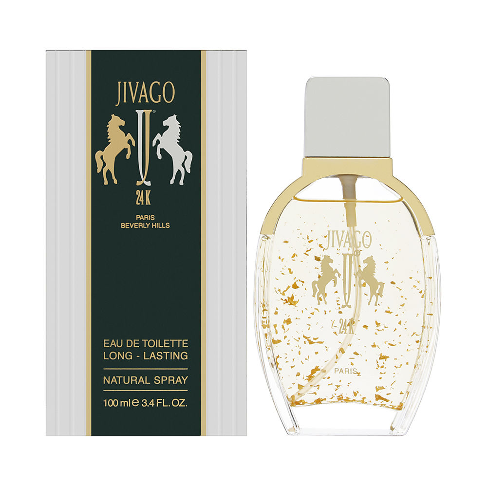 Jivago 24K by Ilana Jivago for Men 3.4 oz Eau de Toilette Spray