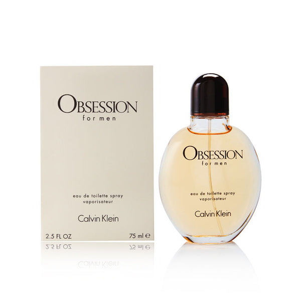 Obsession by Calvin Klein for Men 2.5 oz Eau de Toilette Spray