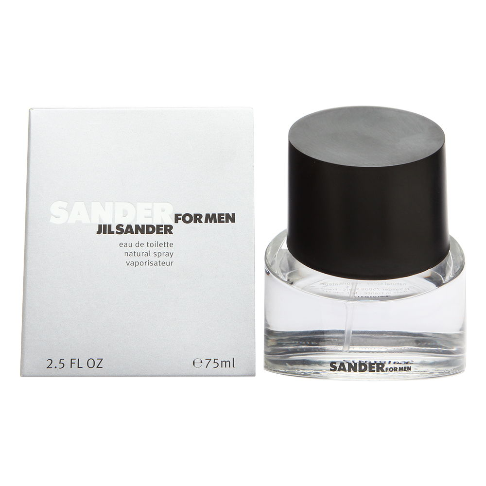 Sander by Jil Sander for Men 2.5 oz Eau de Toilette Spray