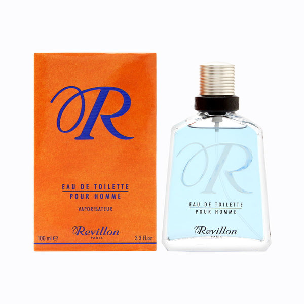 R de Revillon by Revillon for Men 3.3 oz Eau de Toilette Spray