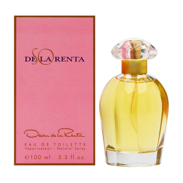 So de la Renta by Oscar de la Renta for Women 3.3 oz Eau de Toilette Spray