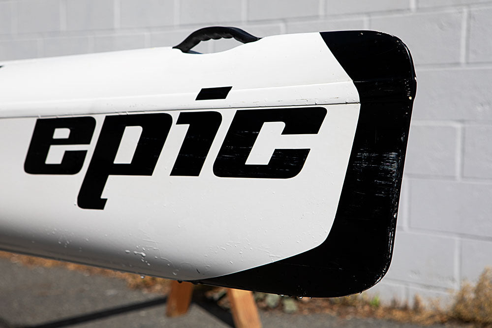 Boat with the word EPIC
