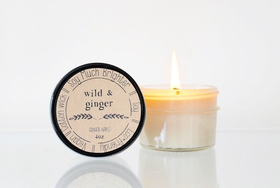 Soy Much Brighter Candle Co. - Wild & Ginger: Ginger + Apple // 4oz
