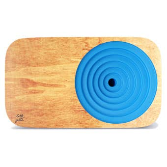 BizViz Blue Wooden Sound System