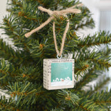 MKC PHOTOGRAPHY - Snowy Night Holiday Ornament