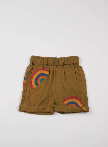 Akshu and Ing - Mustard Rainbow Short