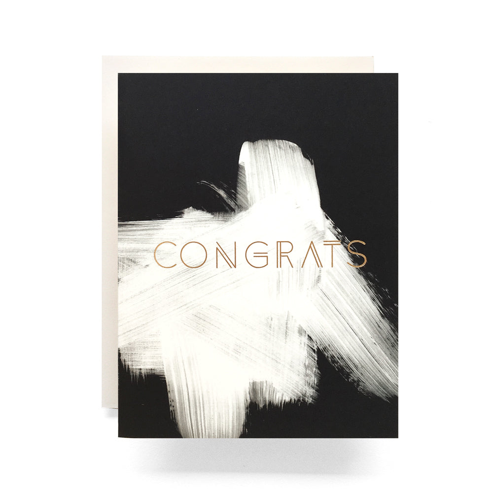 Antiquaria - Brushed Congrats Greeting Card