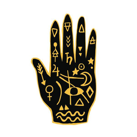 Mystic Hand Temporary Tattoo