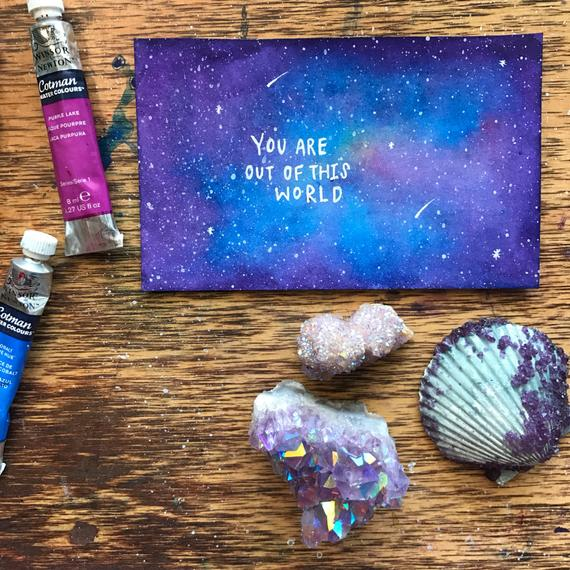 Jess Weymouth - Out of this World Card