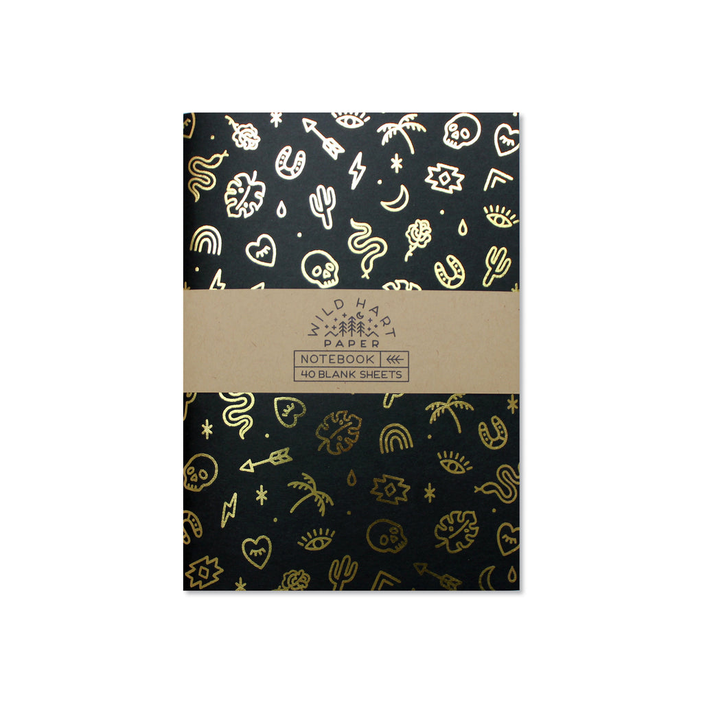 Wild Hart Paper - Charms Notebook