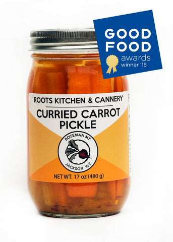 Curried Carrot Pickles