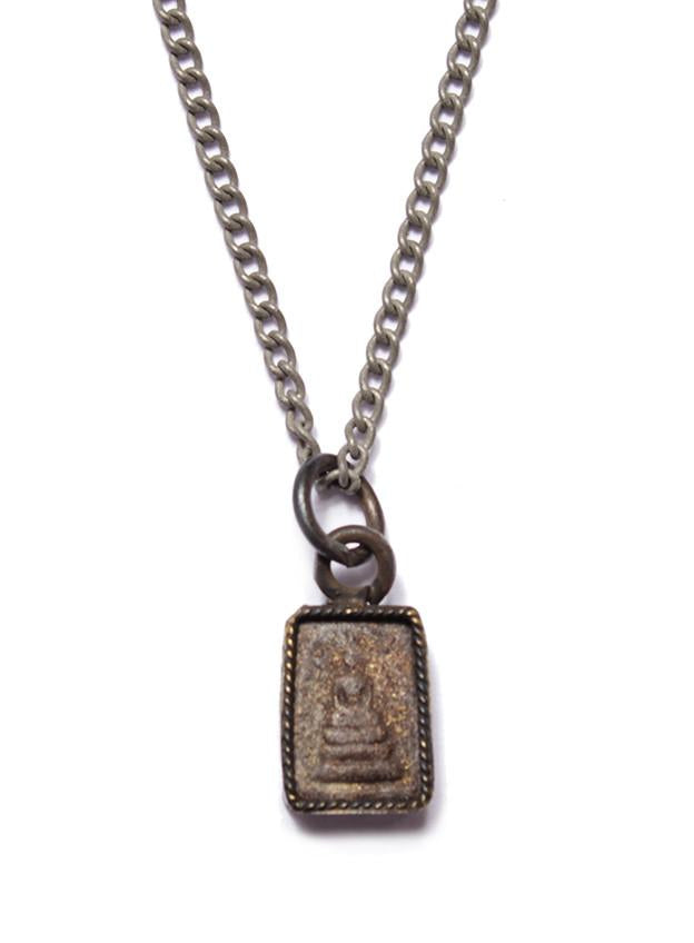 Black Stone Buddha Necklace