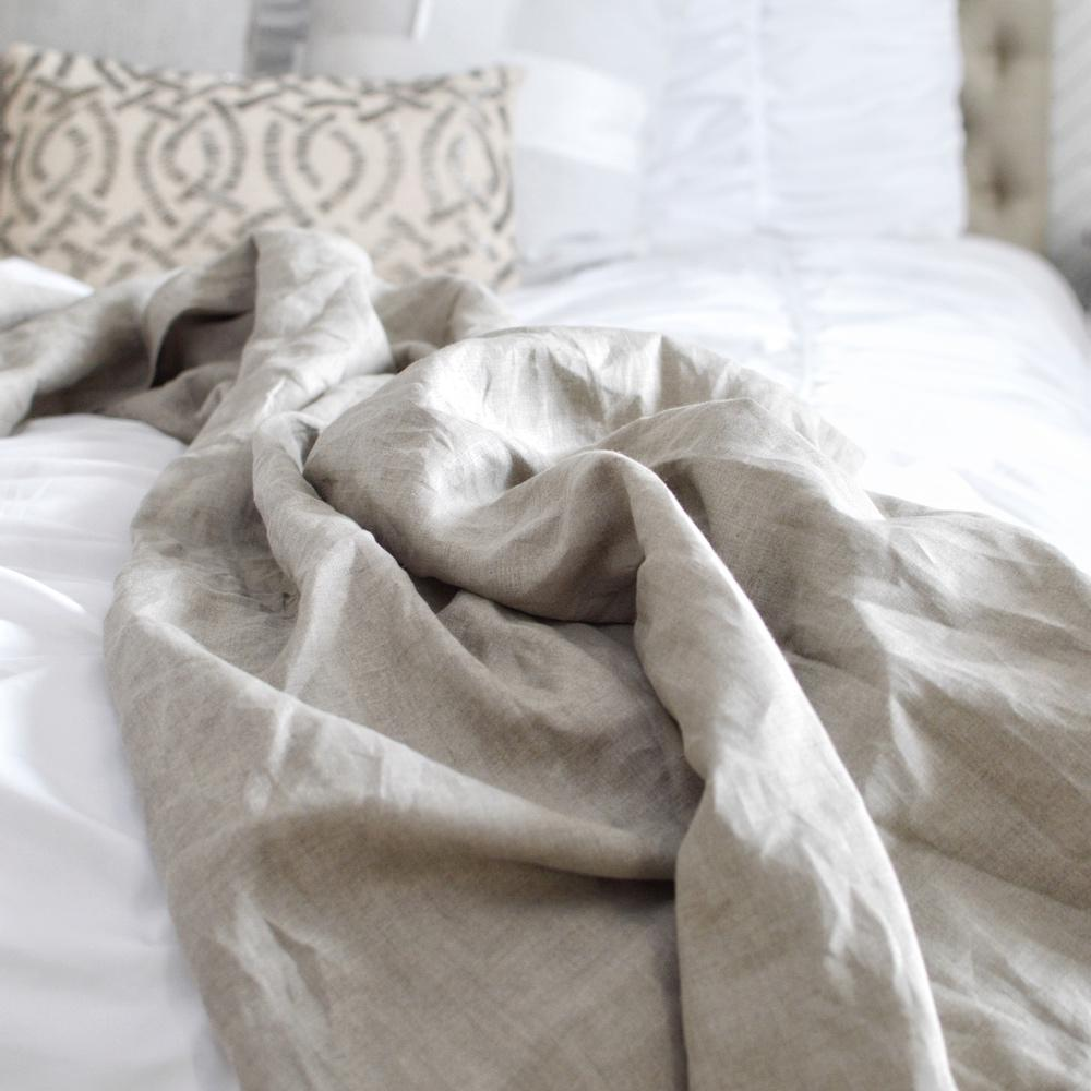 Madly Wish - Earth Linen Throw