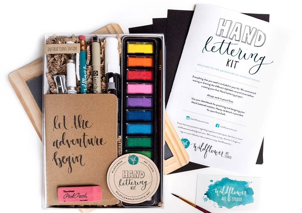 Wildflower Art Studio - Hand Lettering Kit