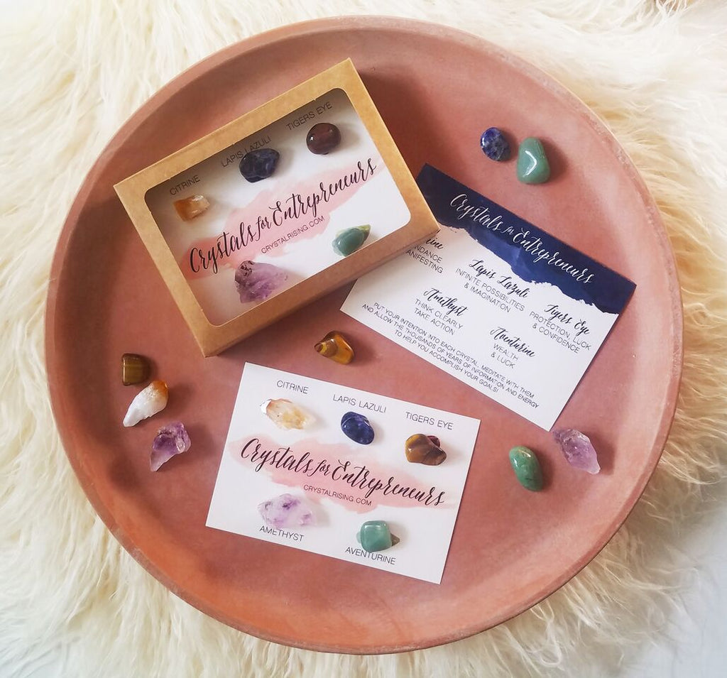 Crystal Rising - Crystals For Entrepreneurs Box Set