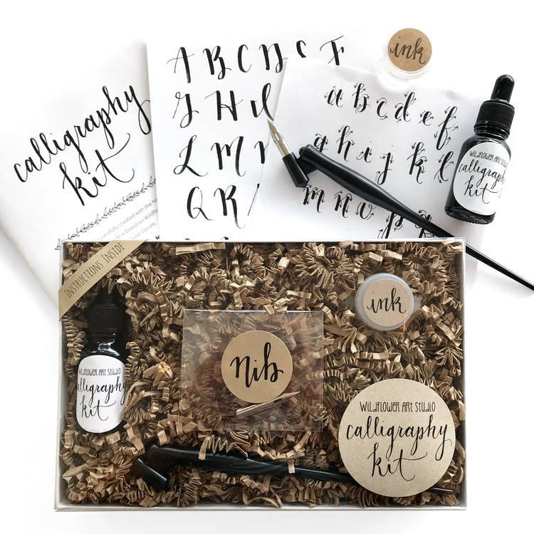 Wildflower Art Studio - Calligraphy Kit