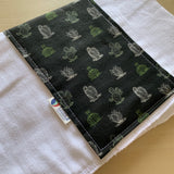 Liddle Handmade - Cactus Burp Cloth
