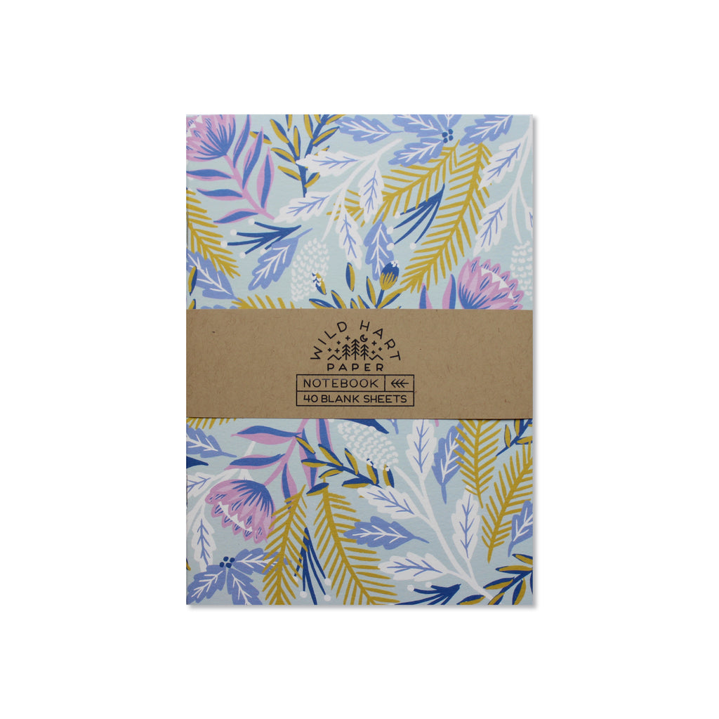 Wild Hart Paper - Winter Floral Notebook