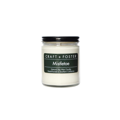 Craft + Foster Candle (amber glass, 8 oz.)