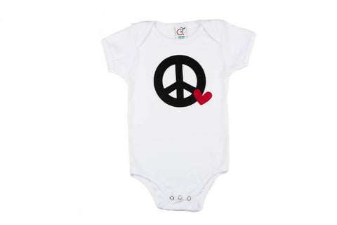 Peace and Love Onesie
