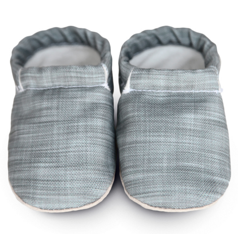 "Gray ""Linen"" Clamfeet"