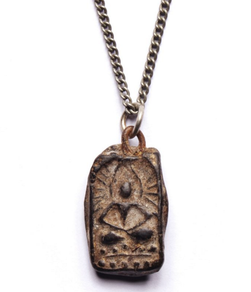 Carved Stone Buddha Necklace