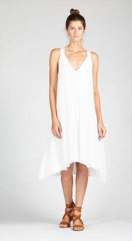 Davi Strap Dress White