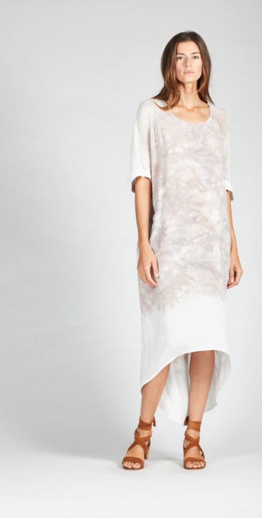 Cloud Ombre Tee Dress