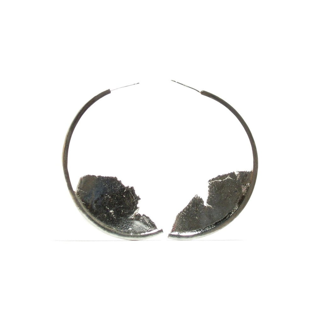 Torn Apart Hoop Earrings