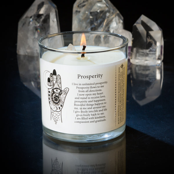 Magic Fairy Candles - Prosperity 8oz Candles
