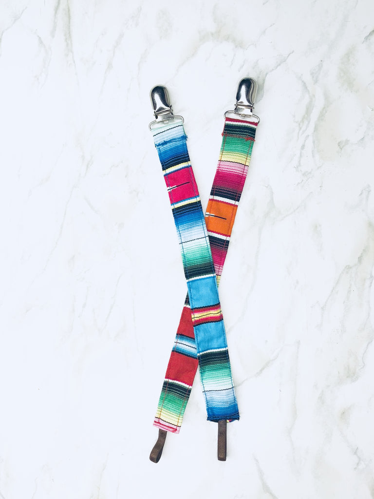 Selvedge Dry Goods - Fiesta Pacifier Clips