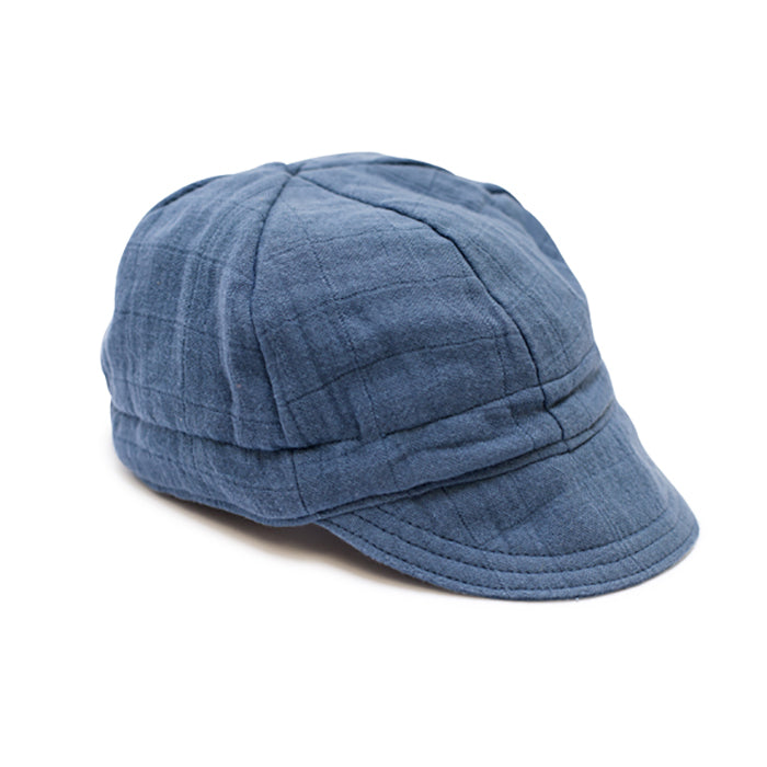Ellie Fun Day - Ocean Blue Newsboy Cap